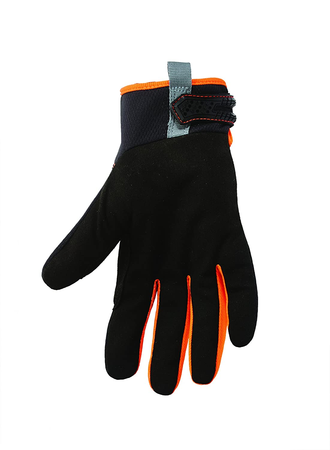 Small Synthetic Leather Palm Lime ProFlex 812 Work Gloves High Visibility