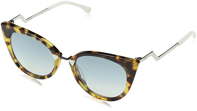 49240dedf4 Image Unavailable. Image not available for. Colour  Fendi Orchidea Cat Eye  Sunglasses FF0118S XU4 56 52