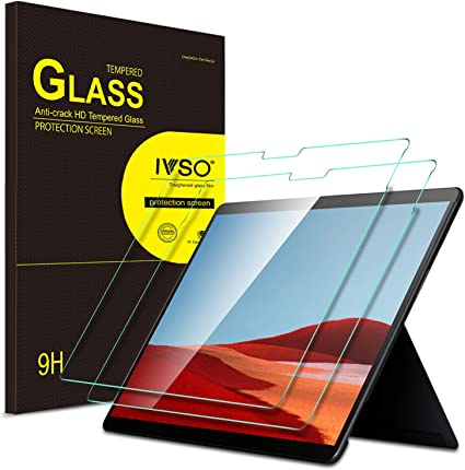 2x Supershieldz Tempered Glass Screen Protector for Microsoft Surface Pro 6