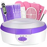 Paraffin Wax Machine for Hand and Feet - Ejiubas Paraffin Bath Quick Heating 2500ml Paraffin Wax Warmer with Paraffin…