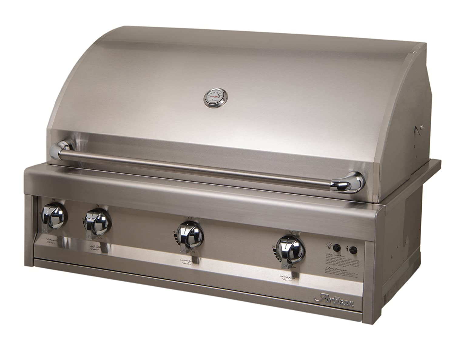 Amazon.com: Artisan Grills Art-36 75000 BTU Built-in Gas ...