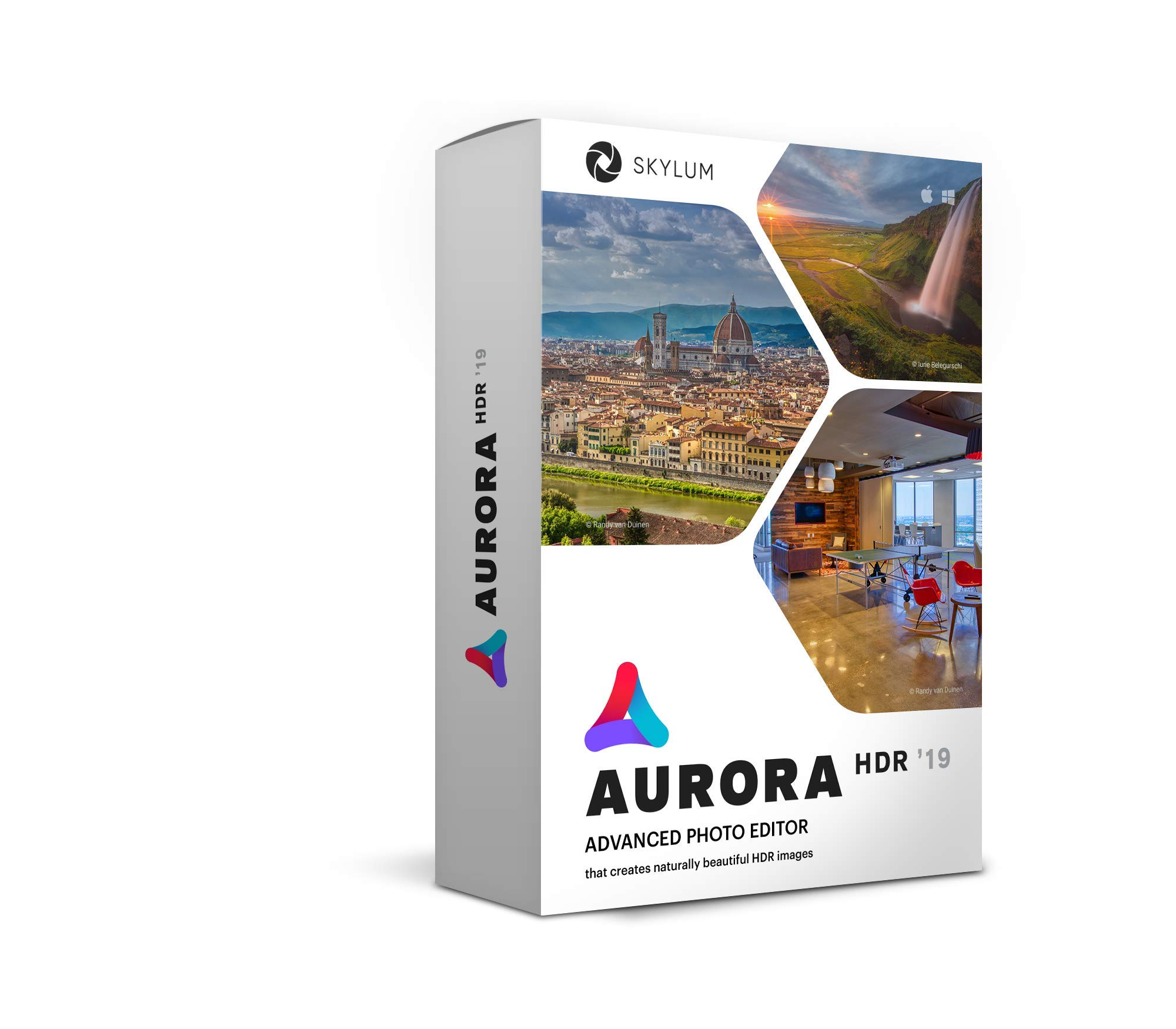 Aurora HDR 2019 - HDR Image Enhancing Program | Amplify Your Images with State-of-the-Art High Dynamic Range Photography Software by Skylum Software | For Mac or PC by Skylum