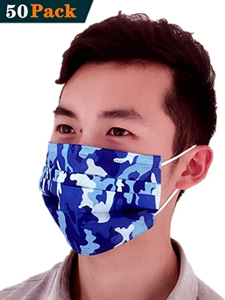 disposable antiviral mask