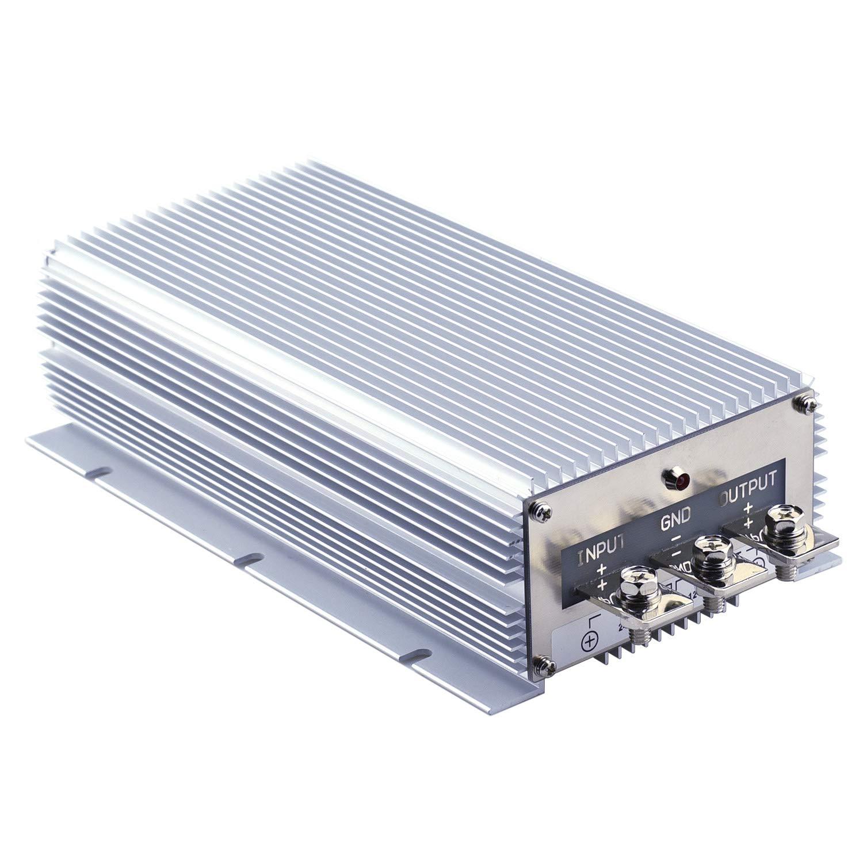 Cllena DC 24V Step Down to 12V 100A 1200W DC/DC Voltage Converter Regulator Waterproof Buck Transformer Power Supply