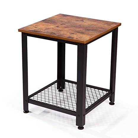 Amazon.com: IRONCK End Tables Living Room, Side Table with Storage ...