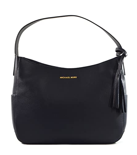 7d0261f406d8 Michael Kors Ashbury Ultra-Soft Leather Shoulder Bag, Admiral ...