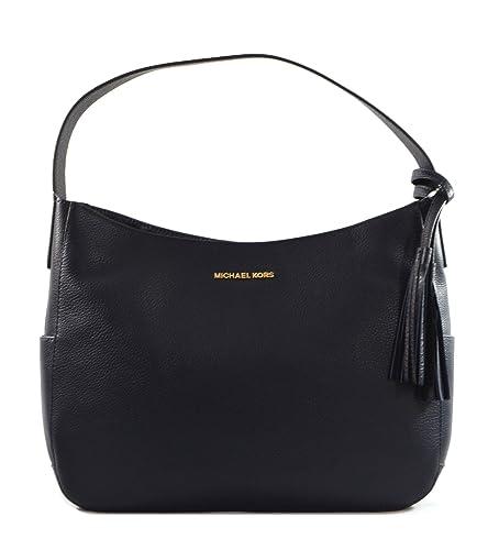 e3d22db233a5 Michael Kors Ashbury Ultra-Soft Leather Shoulder Bag, Admiral ...