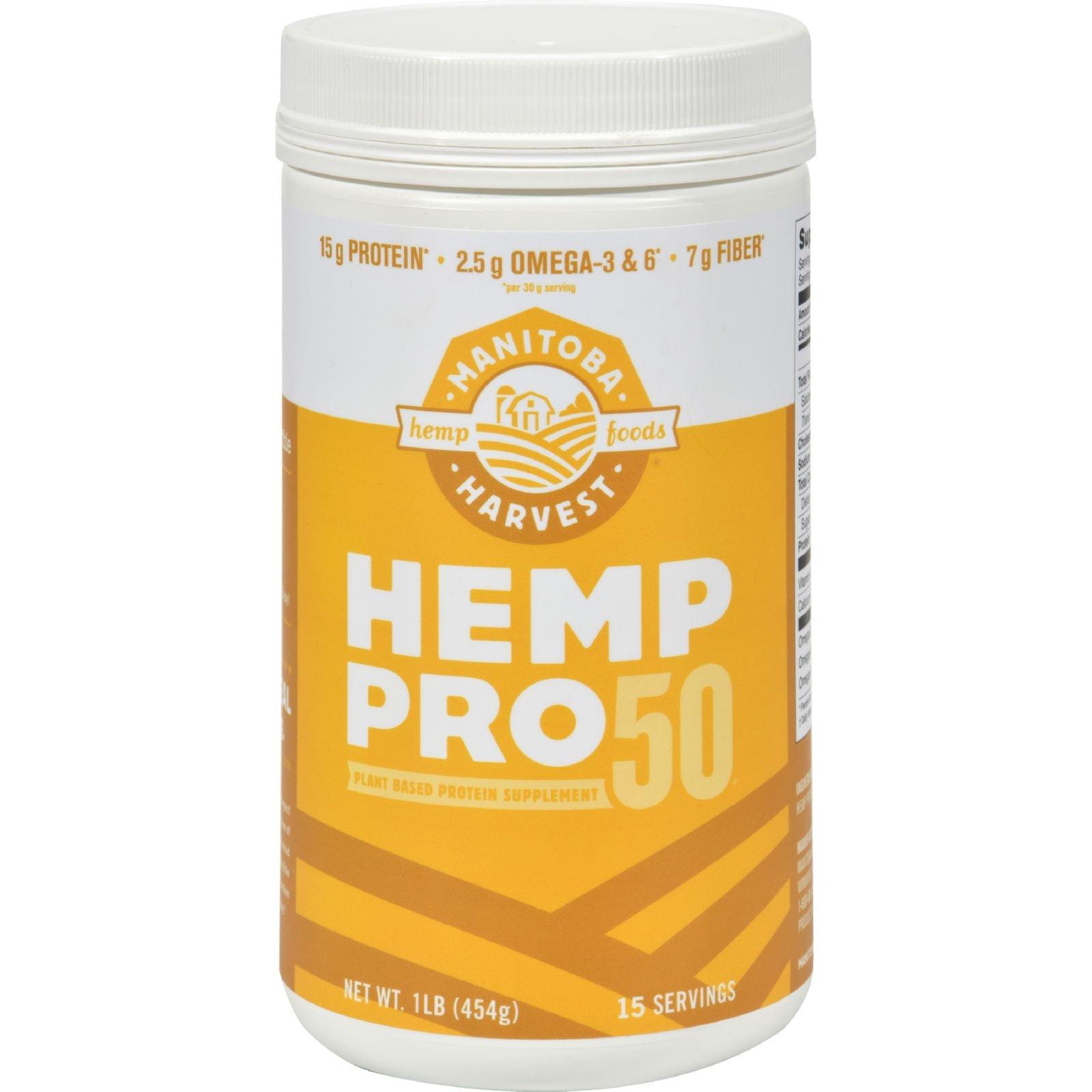 2Pack! Manitoba Harvest Hemp Pro 50 - 16 oz