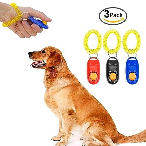 IREENUO 3 piezas de correa de muñeca para perro, perro, gato, entrenamiento,