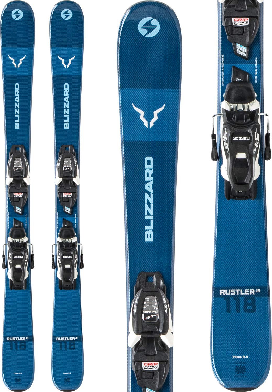 Blizzard Rustler ツイン スキー FJT JR 7 WB ビンディング キッズ  138 cm