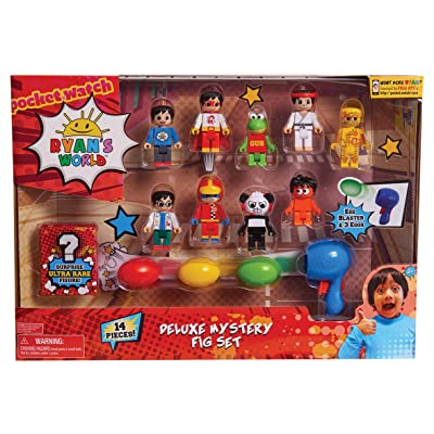 JP Ryans World JPL79255 Ryan's World Deluxe Fig Pack, No Colour: Toys & Games