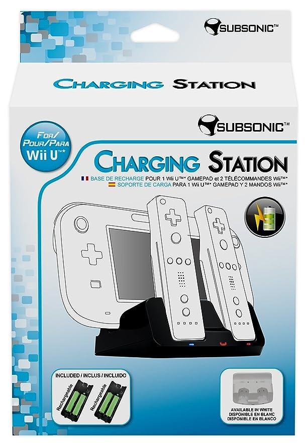 Nobilis - Base De Carga, Color Negro (Nintendo Wii U ...