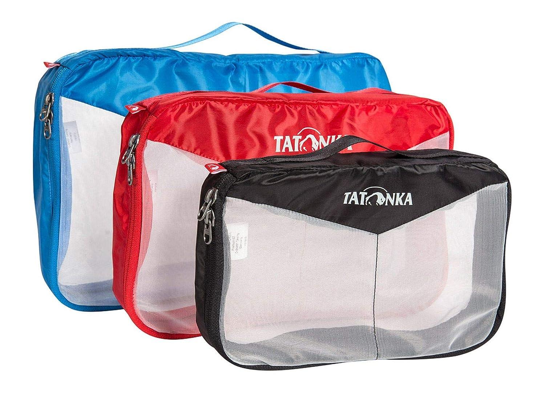 Assorted Colours Tatonka Mesh Bag Set 35/x 22/x 8/cm