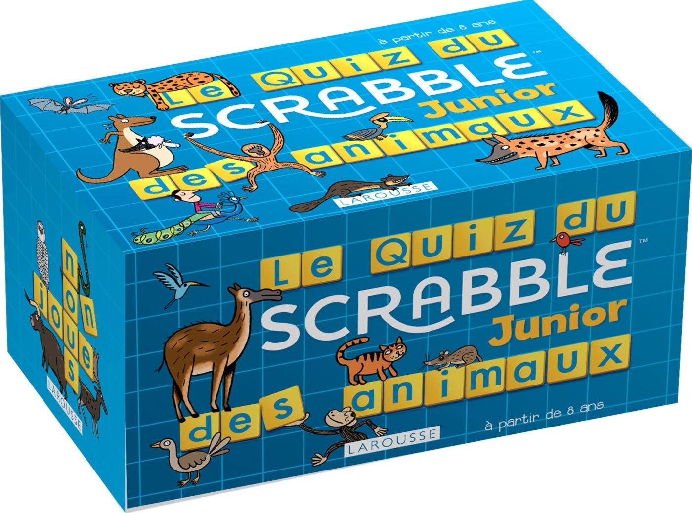 Le Quiz Scrabble Junior des animaux (Boîtes Quiz): Amazon.es: Meyer, Aurore: Libros en idiomas extranjeros