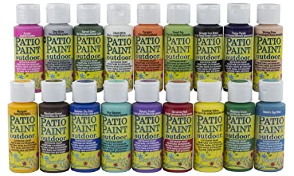 Superb Acrylic Patio Paint Fan Favorites Sampler Set Download Free Architecture Designs Embacsunscenecom