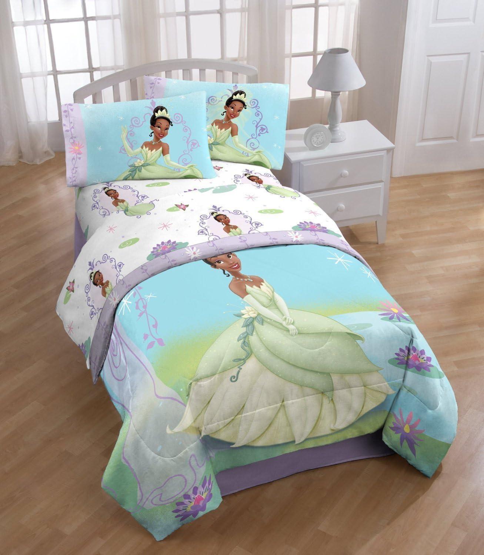 Amazon Com Disney Princesses The Princess And Frog Twin Sheet Set Home Kitchen