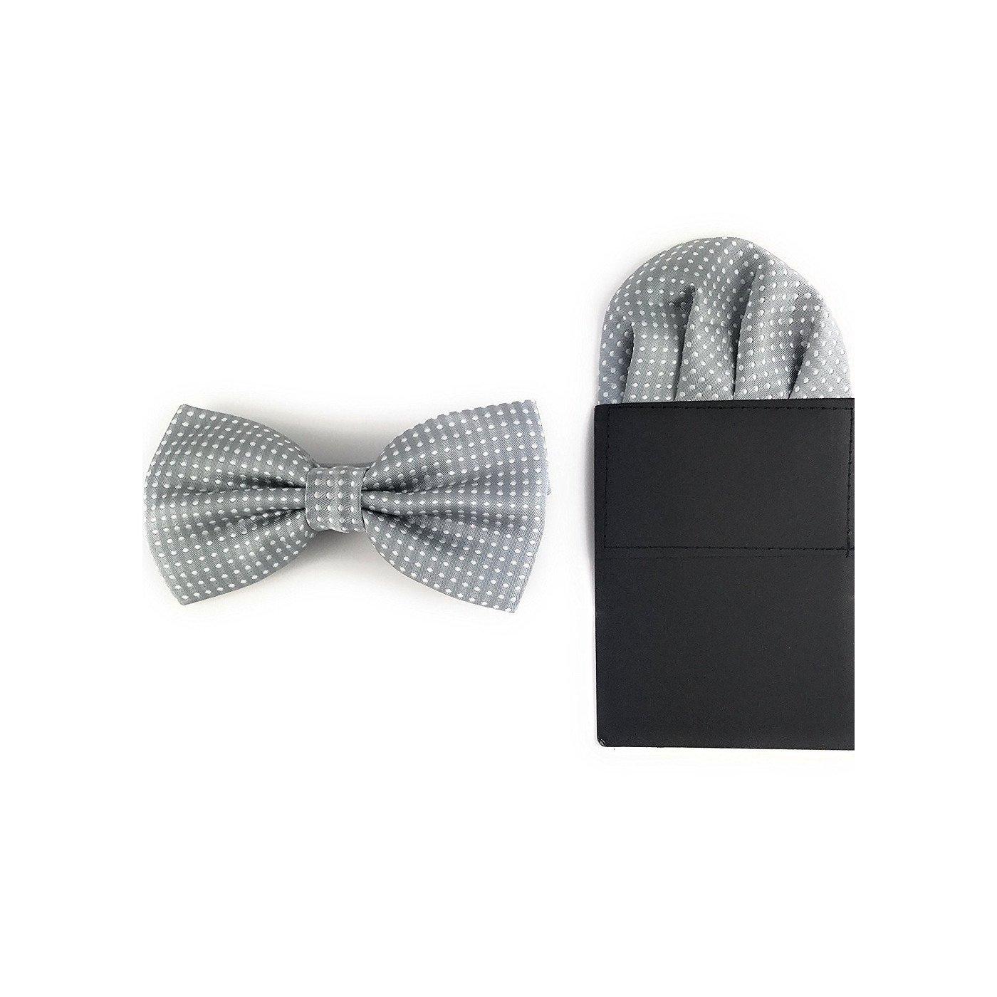 Label-Cravate - Pajarita - para hombre Gris gris perla Talla única ...