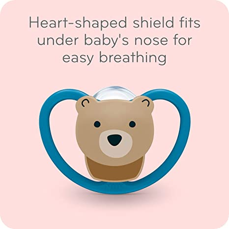 NUK Space Orthodontic Pacifiers, 18-36 Months (2 Count)