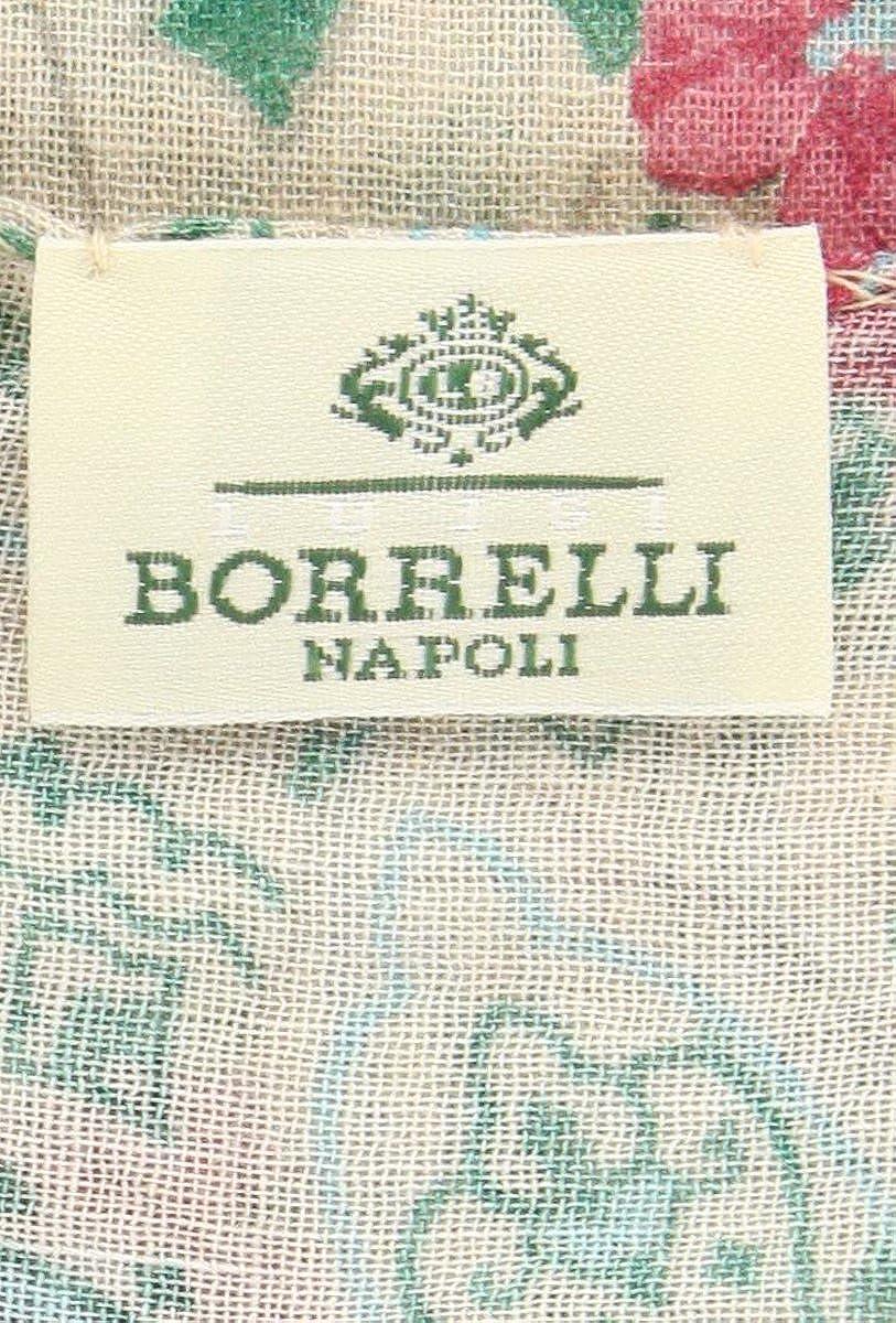 New Luigi Borrelli Beige Wool Blend Scarf