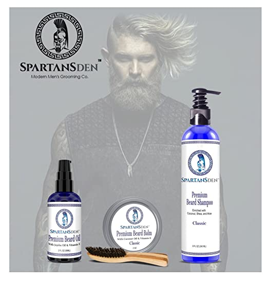 Spartans Den Premium Beard Shampoo Review