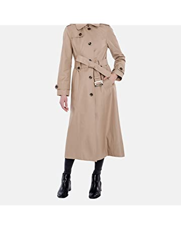 9f684ab1009 London Fog Women s Single-Breasted Trench Coat with Belt