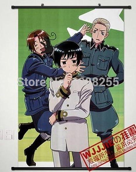 Axis Powers Hetalia HD Print Anime  Wall Poster Scroll Room Decor