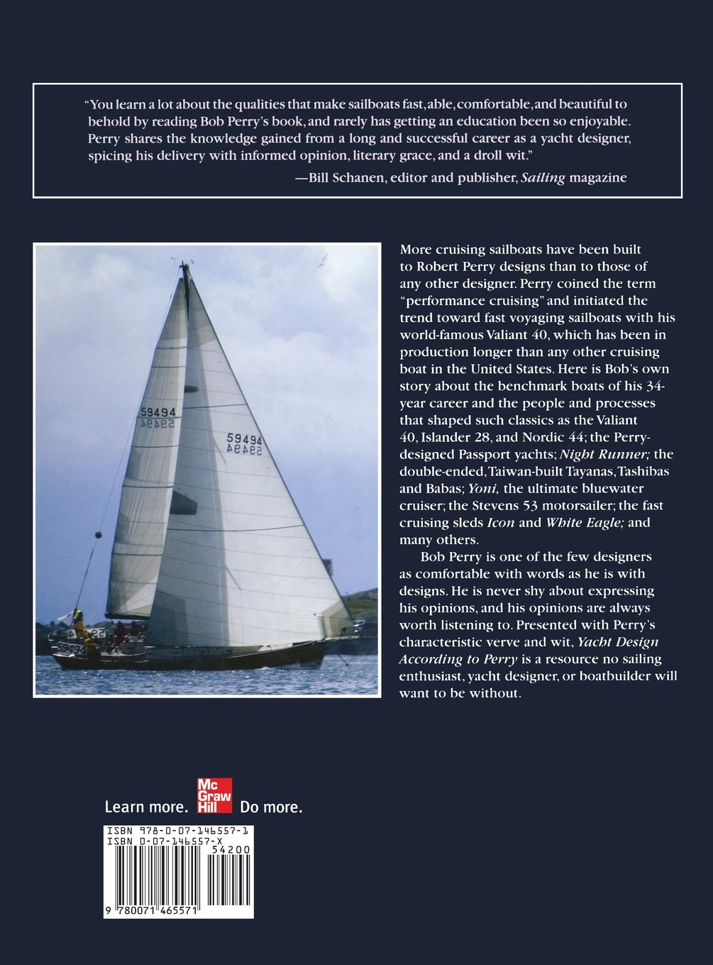 Yacht Design According to Perry: My Boats and What Shaped Them: Robert H.  Perry: 9780071465571: Amazon.com: Books
