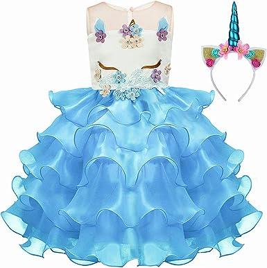 Pretty Princess - Falda tutú para niñas, diseño de Unicornio ...