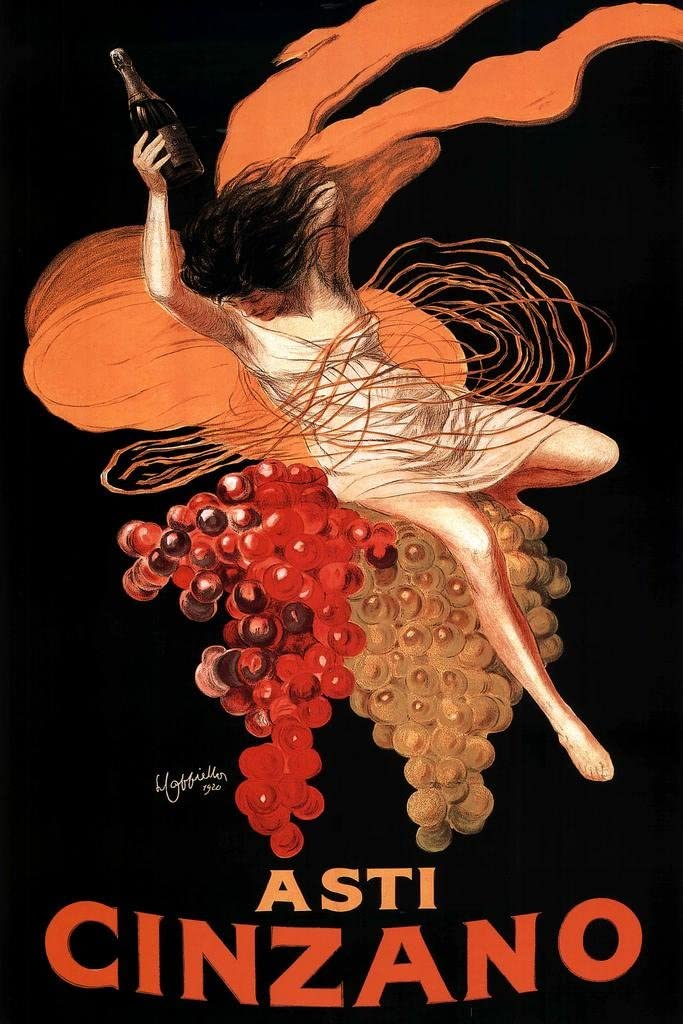 Leonetto Cappiello Asti Cinzano Cool Wall Decor Art Print Poster 24x36