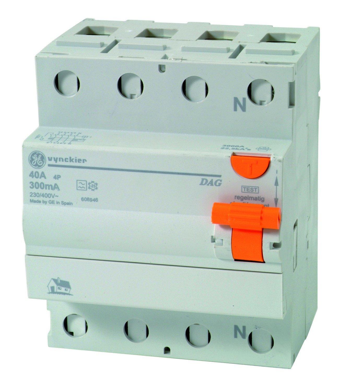 Vynckier 790832162 Disjoncteur diffé rentiel 40 A 4P 300 mA Eltra N.V.