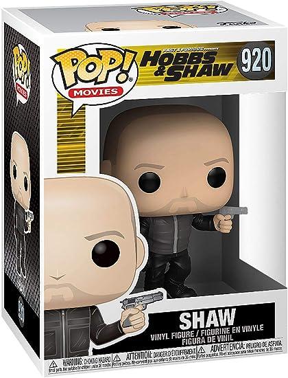 Movies: Hobbs /& Shaw- Shaw Model: 47752 Multicolor, Funko Pop