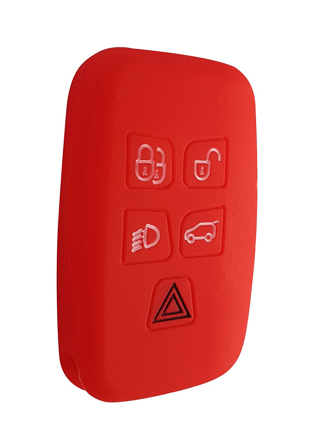 Land Rover Car Key Cover Key Cover Case Silicone for Evoque Velar Discovery Sport Range Rover CK
