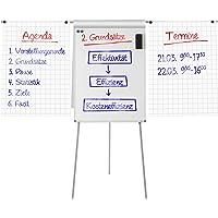 Chevalet de conférence Master of Boards® Triad avec bras   réglable en hauteur - surface magnétique   usage flexible