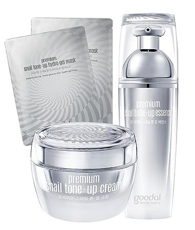 Goodal Premium Snail Tone-Up Cream, 1.7 Fluid Ounce Babor Anti-Wrinkle Face & Eye Energizer  50ml/1.67oz