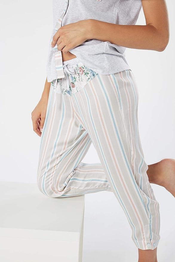 Intimissimi - Pantalones de Pijama a Rayas de Viscosa para ...