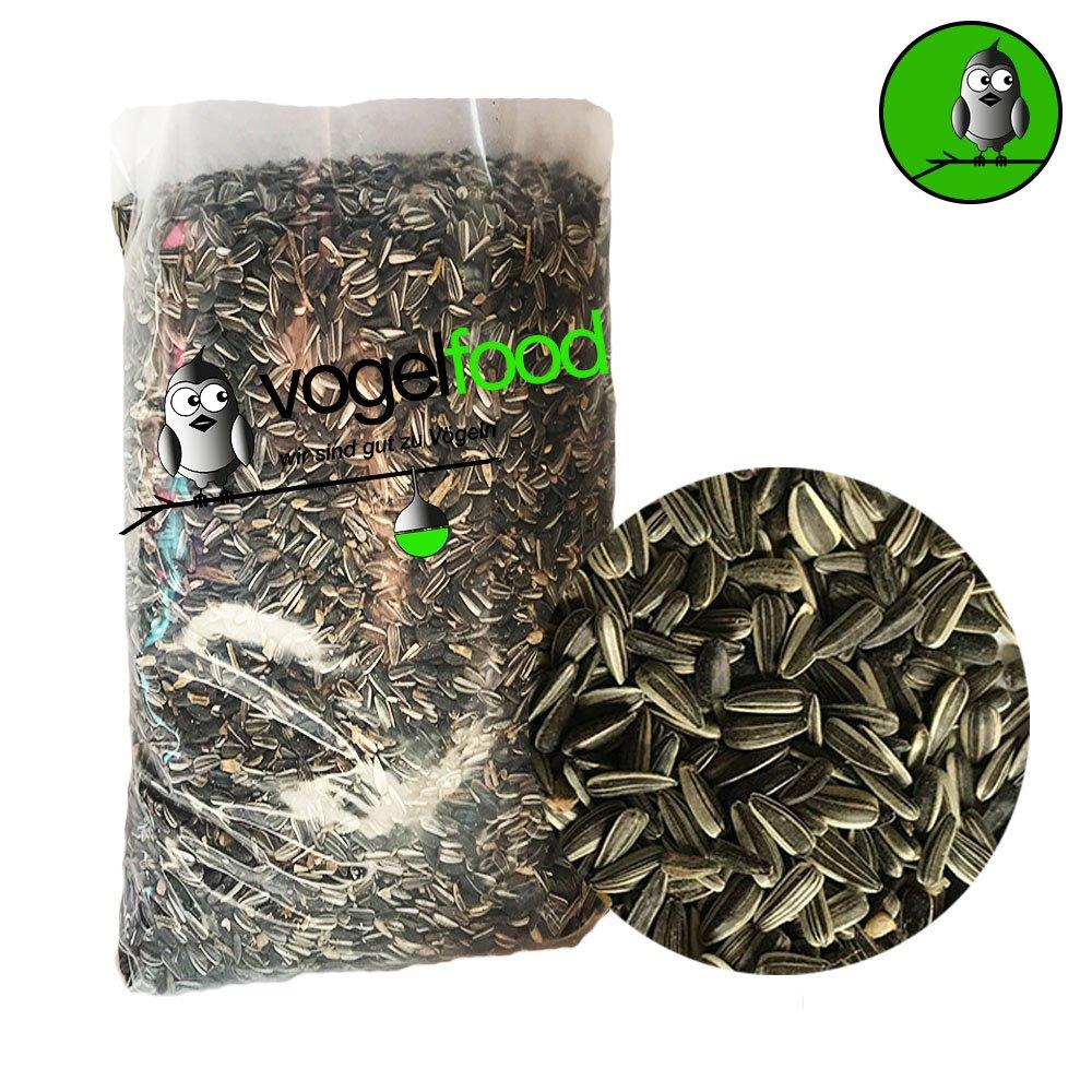 '25kg di semi di girasole a strisce marca