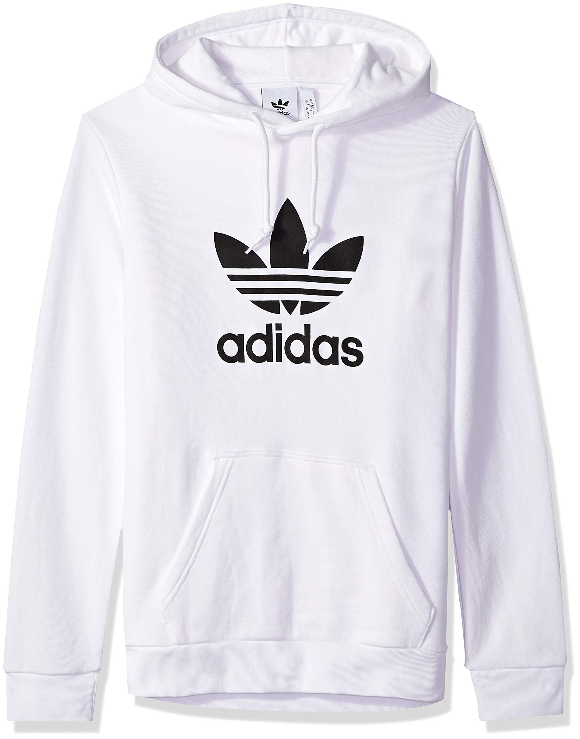 adidas Originals Men's Trefoil Hoodie, White X-Small
