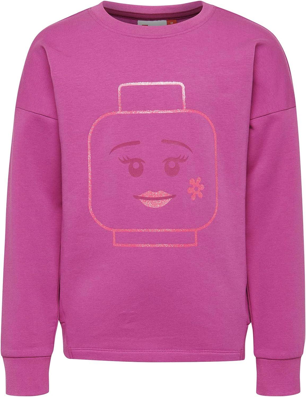 104 Lego Wear Girls Lego Lwsimone Jacket Light Purple 620 Grey