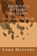 Journals of Lord Malinov Kindle Edition