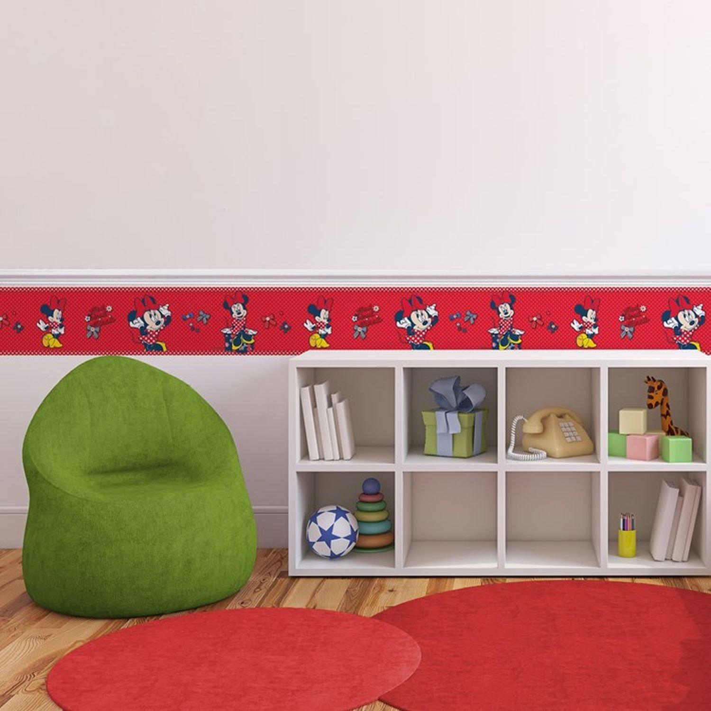 Self-Adhesive Disney Minnie Red Bow 5 Meters Wallpaper Border
