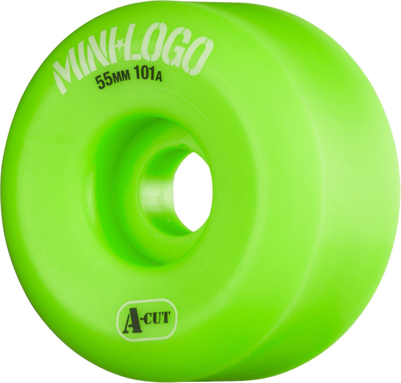 Mini-Logo A-Cut 55 x 101 Green Skate One Corp WSBCMLAC5501G4 New