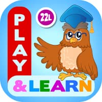 Preschool Learning Games for Toddlers, Kindergarten Kids and 1st Grade Girls and Boys: Tracing, Spelling, Reading, Letter Sounds and Names, Phonics, First Words, Shapes, Colors, Pumpkin Puzzles, Memory Games & Coloring Book by Abby Monkey