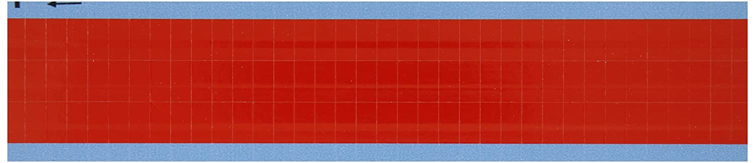 Pack of 25 Card Brady TMM-COL-RD-PK 0.50 Marker Length B-702 Vinyl Red NEMA Color Wire Marker Card
