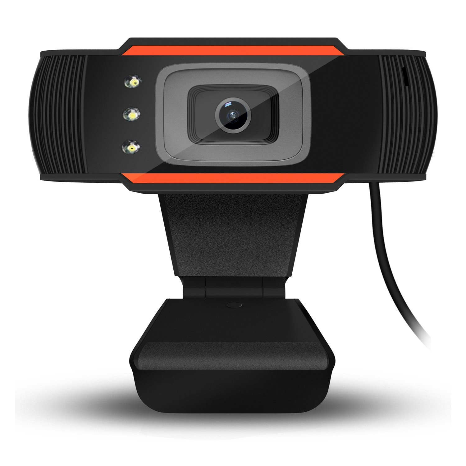 HD Webcam with Microphone, Desktop Portable Webcam for Computer