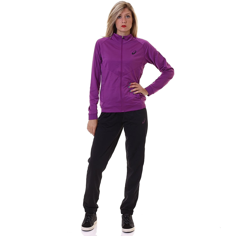 Asics Woman Chándal Polywarp 2, violeta, XS: Amazon.es: Deportes y ...