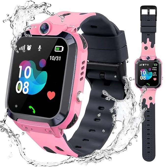 Kids Waterproof Smart Watch Phone - 1.4