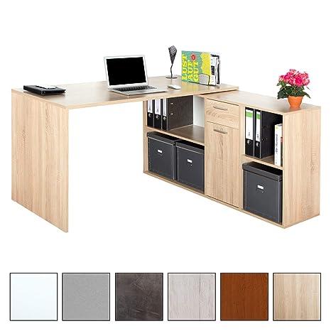 Ricoo Winkelkombination Schreibtisch Arbeitstisch Computer Tische