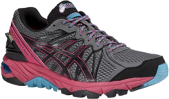 ASICS Gel-Fujitrabuco 3 Neutral Mujer de Gore-Tex Trail Zapatillas de Running, T4f5n/9790, Titanium/BLK/Magenta, 44 (EU): Amazon.es: Deportes y aire libre