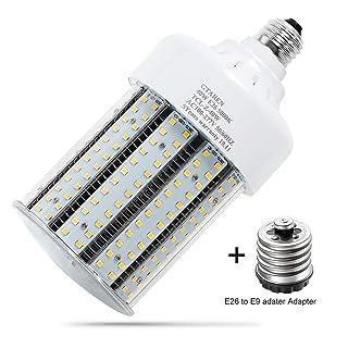 40w led Garage Light Bulb, 5000k Corn led Bulb,E26 E39 Base, Led Replacement incandesce CFL Metal Halide HID HPS lamp for Indoor Outdoor Garage Yard barn Warehouse Workshop Gym