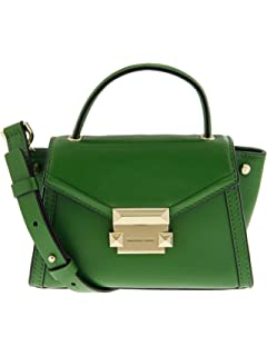 6c2e724b1188 Michael Kors Whitney Large Shoulder Bag- True Green  Handbags ...